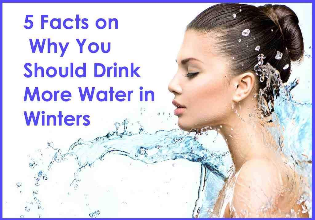 Drink More Water In Winters