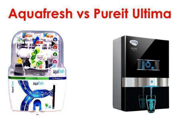 aquafresh vs pureit ultima