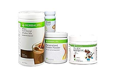 Herbalife Nutritional shake mix combo family pack of 3 (mango, strawberry, kulfi)
