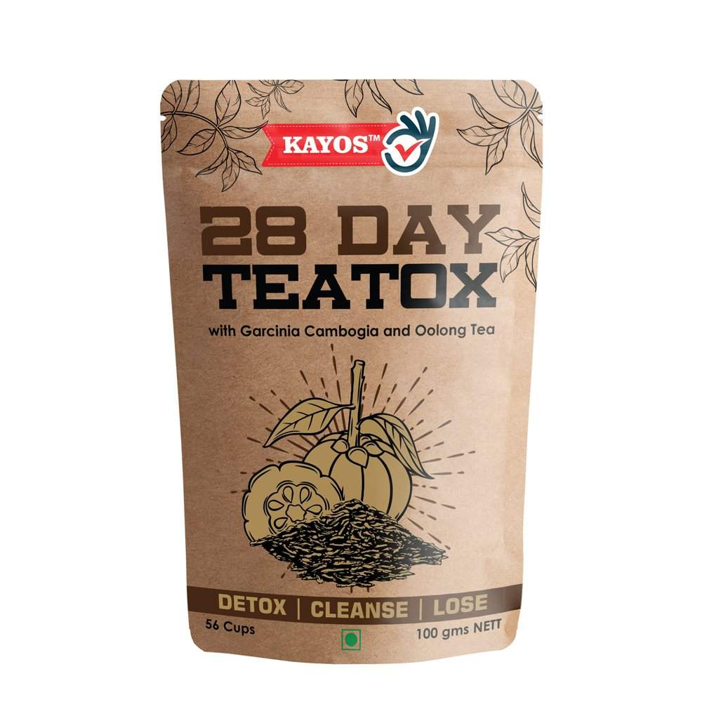 Kayos 28 Day Teatox with Garcinia Cambogia and Oolong Tea (100 gms)