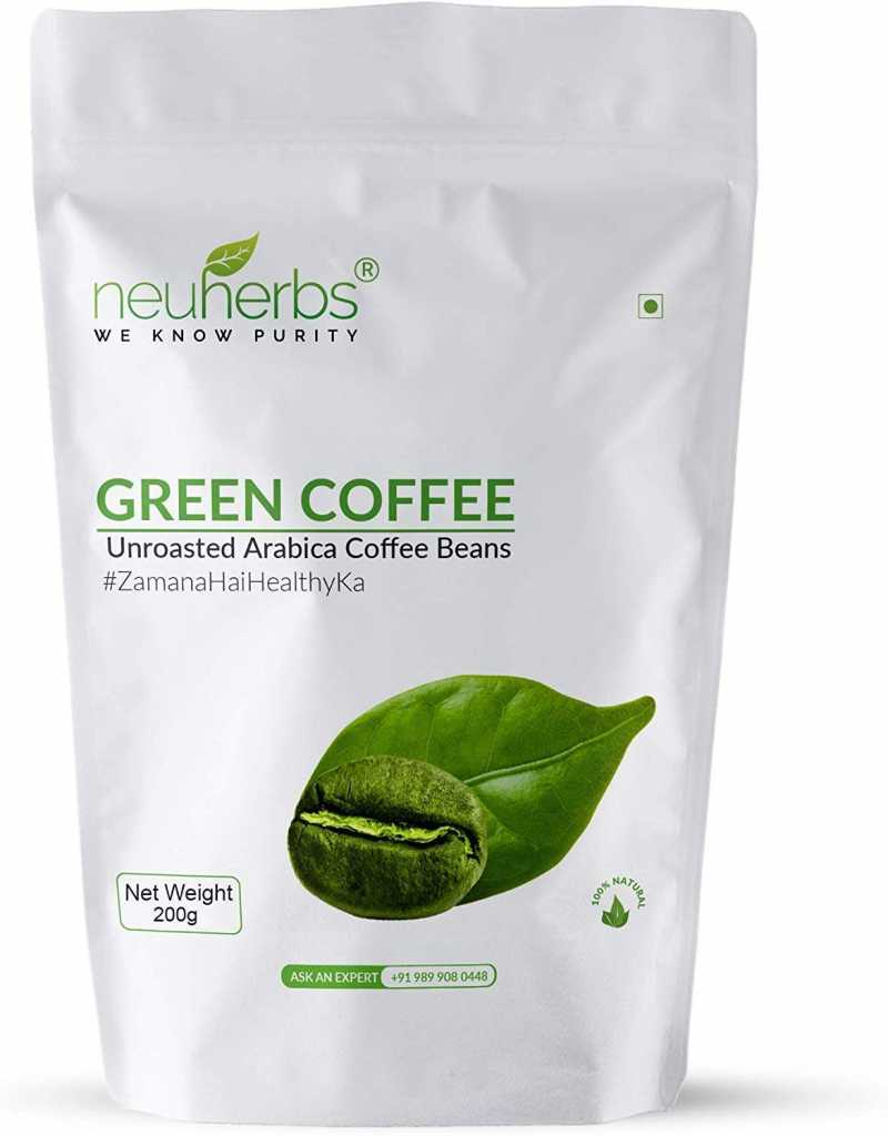 Neuherbs Green Coffee Beans for Weight Loss 200g