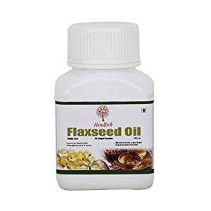 NatuRich Flax Seeds Oil Omega 3-6-9, 60 Softgel Capsules
