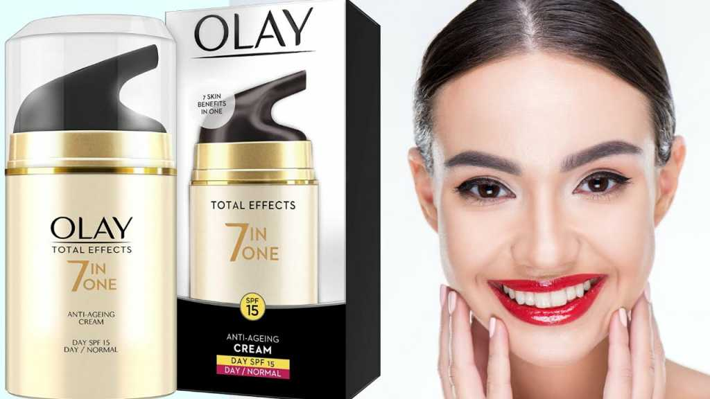 Olay Day Cream Total Effects 7 in 1, Anti-Ageing SPF 15